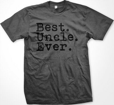 437486304 SALE Best Uncle Ever Period Niece Nephew Tio Novelty Gag Gift Charcoal T- shirt