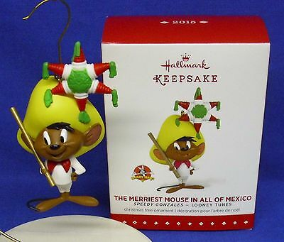 Hallmark Looney Tunes Ornament Merriest Mouse in All of Mexico Speedy Gonzales