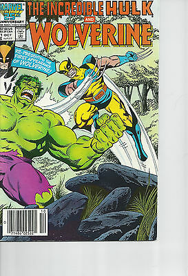 The Incredible Hulk and Wolverine #1 (1984)  VF+