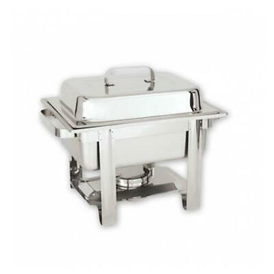 Chafer / Chafing Dish, Fuel Heated, 1/2 Size Food Pan, Stackable, Buffet Warmer