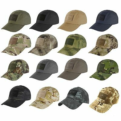 CONDOR TACTICAL CAP ( Choice of 10 Colors or Camoflage )  TC Hat ... 4d1188aace6