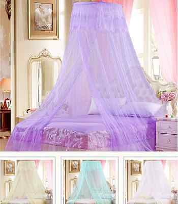 Mosquito Net Bed Canopy Netting Curtain Dome Fly Midges Insect Stopping AG