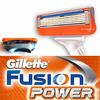 8 x Gillette Fusion POWER Rasierklingen