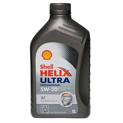 Engine Oil 1 Litre Fully Synthetic Shell Helix Ultra Professional AF SAE 5W20 1L
