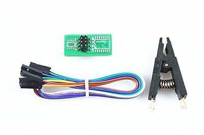 XINY SOIC8 SOP8 Flash Chip IC Test Clips Socket Adapter BIOS/24/25/93/95