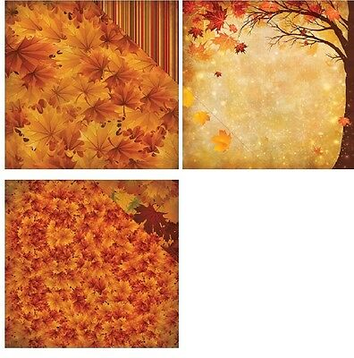 "Reminisce Best Of Harvest Double-Sided Cardstock 12""X12"" Herbst 30,5x30,5 cm"