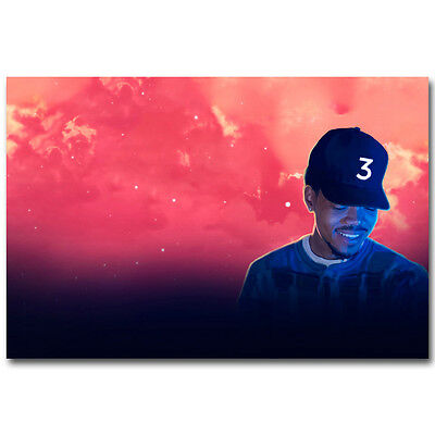 Chance the Rapper Hot Music Rap Art Silk Poster Print 12x18 24x36 inch