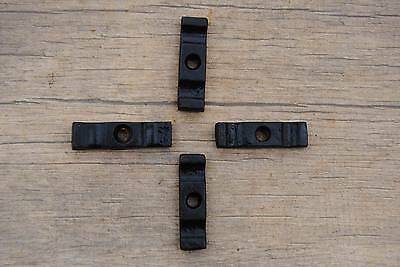 "Vintage cast Iron Cabinet Cupboard Door Catch Twist Turn LATCH 1.8"" Farm decor"