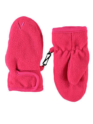 NAME IT Fleece Handschuhe Fäustlinge Mar pink Raspberry Größe 4 bis 6