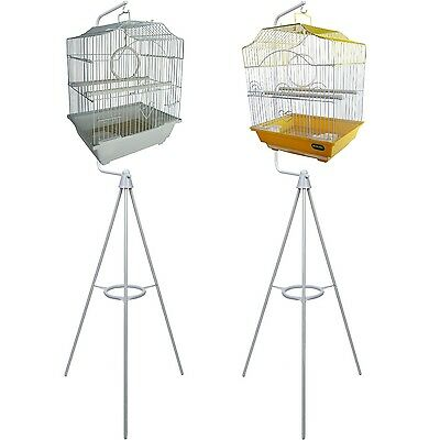 Heritage Small Bird Cage & Tripod Bird Cages Stand Great Value Budgie Canary