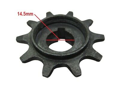 10T Clutch Gear Drive Sprocket Fits 49cc 66cc 80cc Motorized Bicycle Bike Engine