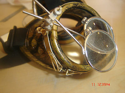 Solid Brass  Accessory Mount For  Steampunk Goggles