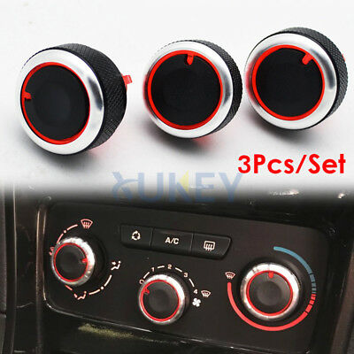 Fit For PEUGEOT 307 C-TRIOMPH Heater Knobs Dials AC Switch Buttons Control Cover