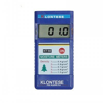 KT-50 Digital Inductive Wood Tree Timber Moisture Meter Tester Range: 2%-80% New