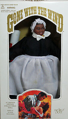Mammy Gone With The Wind World Doll 1989, NRFB w/LN box - 61061
