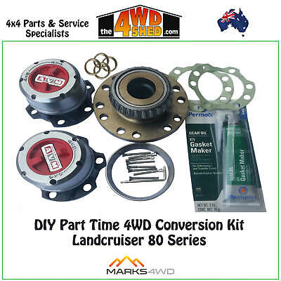 Part Time DIY  4WD Conversion Kit - Toyota 80 Series Landcruiser FZJ HZJ HDJ