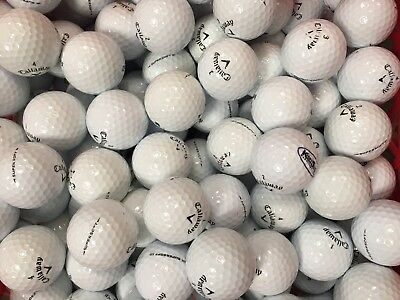 50 x CALLAWAY GOLF BALLS (2 PIECE BALL) - *CLEARANCE* SURPLUS PROMOTIONAL BALLS