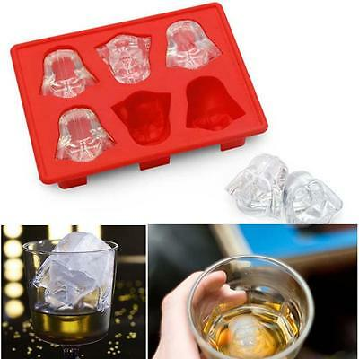 Silicone Vibrant Star Wars Ice Plateau Mold Ice Cube Tray Fondant Darth Vader DC