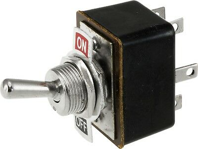 Dpdt 3A Metal Toggle Switch On - Off Indicator Plate