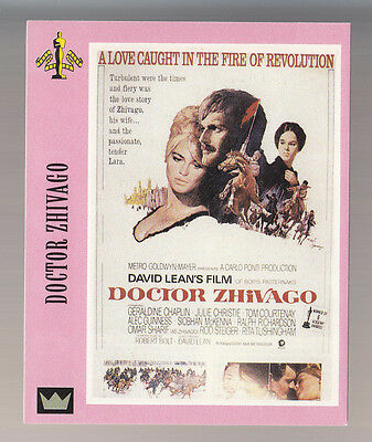 DOCTOR ZHIVAGO Omar Sharif David Lean Film (1965) SUPER CINEMA POSTER PHOTO CARD