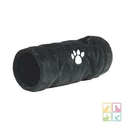 Chats Tunnel De Chat Knister Tunnel Peluche chats 'Crispy' gris