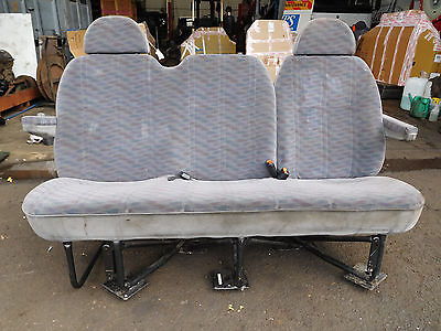 Ford Transit Rear Triple Seat With Seatbelts 2001 - 2006