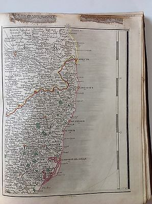 John Cary Copperplate Antique MAP 1794 Suffolk Norfolk Aldburgh Southwold Rare