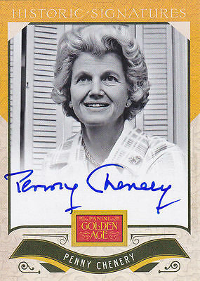Penny Chenery Autograph Secretariat Owner Triple Crown Horse Racing ONLY Auto