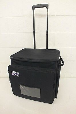 """Crop In Style XXL Rolling Scrapbooking Tote Bag 16x20x20"""" GREAT Fast Shipping"""