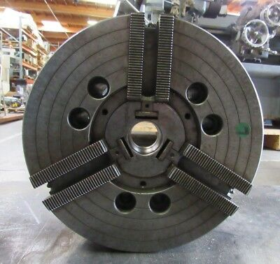 "Howa 12"" 3 Jaw Power Chuck From Mori Lathe Sl-4 A2-8 Mount, 0258, Hoia 12  A8 Qb"