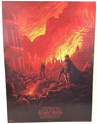New Star Wars Force Awakens IMAX Collectable Promo Poster 3 of 4