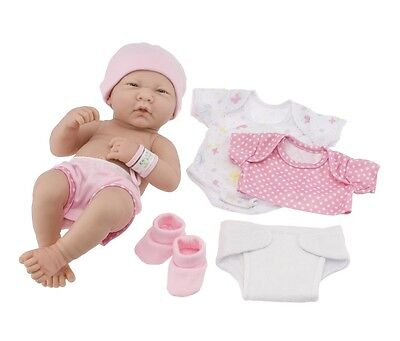 New Berenguer * 18543 * La Newborn * Deluxe Layette Set * With 14 Inch Baby Doll
