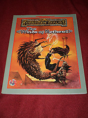 AD&D Advanced Dungeons & Dragons Forgotten Realms Winds of Netheril campaign