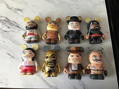 Disney Vinylmation Indiana Jones Series 1 Set Of 8 With Chaser