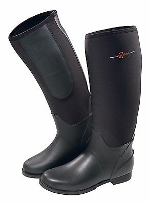 Covalliero Black Neoprene Riding Boots Sizes EU35-45 ***Fast Delivery***