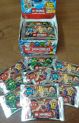 Lego Ninjago Trading Cards - 10 Brand New Sealed Packets