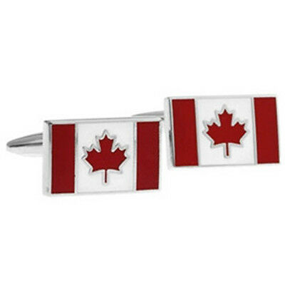 Newfoundland traditional flag Flag Gold-tone Cufflinks Money Clip Engraved Gift Set