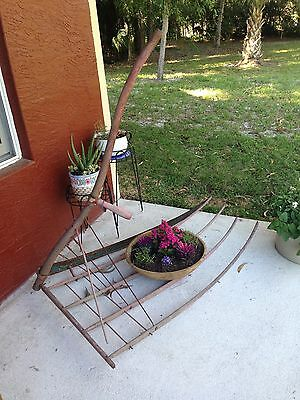 Antique Amish Farm Grain Cradle