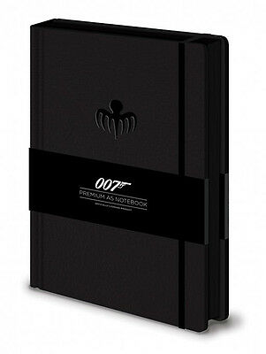 James Bond Premium Notizbuch Spectre Octopus Logo
