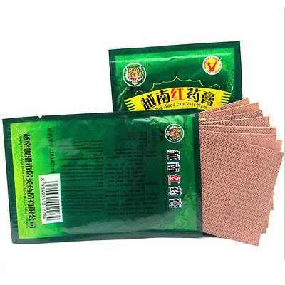 40pcs Vietnam Tiger Creams Plaster Pain Relief Patch Body Muscle Massager