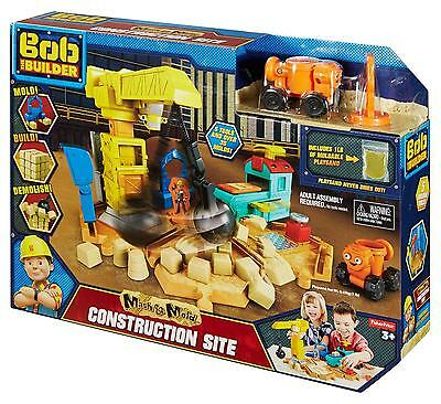 Fisher-Price Bob the Builder Mash & Mold Construction Site NEW