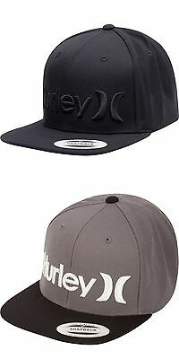Hurley Men's One & Only Snap Back Hat NEW!