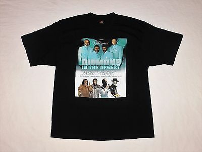 2008 Las Vegas Blues Festival Concert Shirt The Whispers Lenny Williams XL NEW