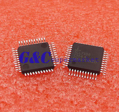 1PC ICL7106CM44 QFP-44 A//D Converters IC NEW