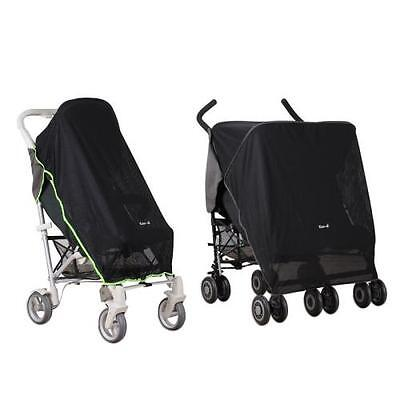 Koodi Pram Sun Shade Single Double Stroller Sleep Pushchair Cover Buggy Pack It