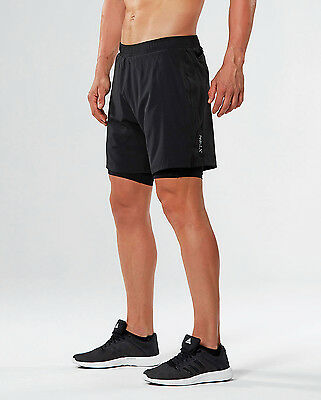 "NEW 2XU XTRM 7"" 2 IN 1 Shorts Mens Other"