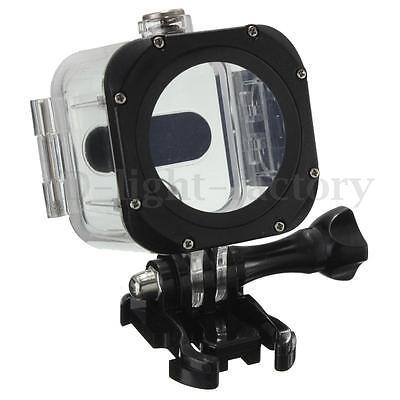 60m Underwater Waterproof Protective Housing Case Cover For GoPro Hero 4 Session