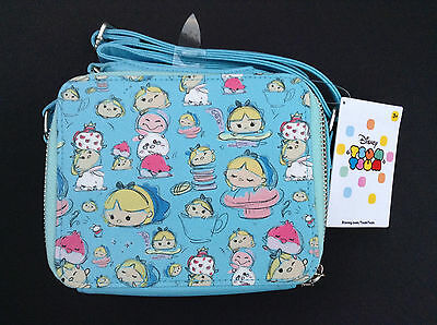DISNEY Store ALICE IN WONDERLAND TSUM TSUM Crossbody BAG Purse NWT