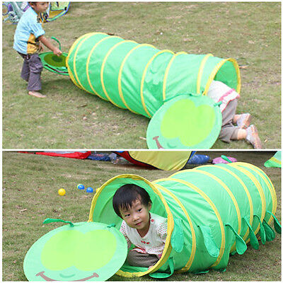 Children Pop Up Play Tent House Tunnel Set Kids Adventure Indoor Outdoor Garden