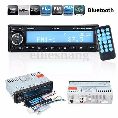 Autoradio Bluetooth Vivavoce Stereo Audio In-Dash MP3 Player FM Radio SD USB AUX